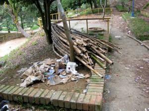 Gente de Cabecera ha denunciado en varias ocasiones el estado de abandono del parque Leones.