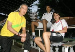 Enrique Becerra, quien dedicó parte de su vida al squash, es ahora dirigente deportivo.