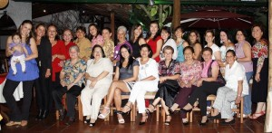 Lucía Muñoz, Carolina Muñoz, Stella Rivera, Tilcia Rivero, Piedad Rivero, Yolanda Pineda, Milena Reyes, Alexandra Serrano, Cecilia León