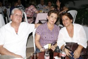 Luis Jaimes, Mariela de Jaimes, Bety Jaimes de Gutiérrez.