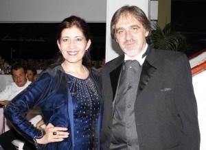 Leti Santamaría y Jorge Guillermo.