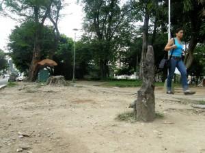 El deterioro del parque Antonio Nariño, merece la atención urgente de las autoridades.