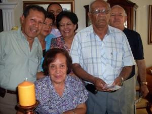 Eduardo Arias, Ángela Buitrago, Danny Sandoval, Ida Acevedo, Jorge Araque, Hernando Ramírez y Ligia Rojas Rico.