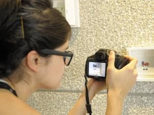 Fotógrafa Bumanguesa en Exposición.