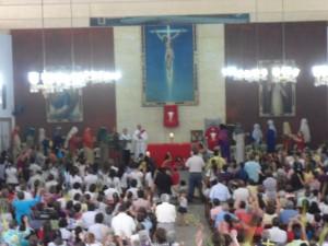 Domingo de Ramos - Parroquia San Pío X a cargo del MPPC