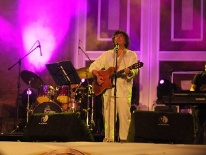 El cantante argentino, Piero, estará este fin de semana en Girón.