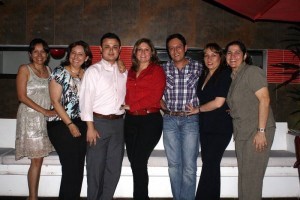 Gloria Latorre, Liliana Mayolo, Javier Traslaviña, María Helena Díaz, Édgar Becerra, Adrián Acevedo y Janeth Hernández.