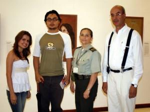 Andrea Díaz, Gregorio Ramírez, Alida Camacho y Luis Eduardo Villamizar.