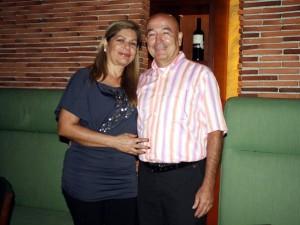 Luz Amparo Luna y Rafael Galvis.