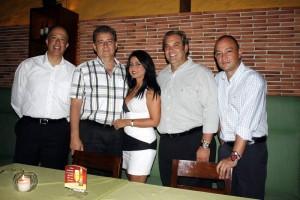 Ricardo Carreño, Juan Ricardo Carreño, Liliana Niño, Federico Ramírez, Jaime Velandia.