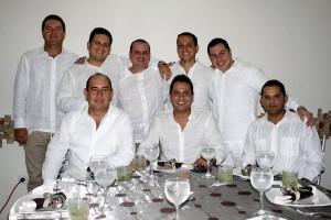 Luis Silva, Andrés Ballesteros, Carlos Ruiz, Julián Ruiz, Édgar Ramírez, Carlos Gast, Gustavo Trillos y Óscar Torres.