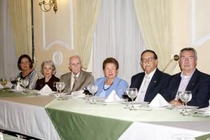 Susana Gómez, Beatriz Vásquez, Efraín Ardila, Cecilia Macías de Mantilla, Efraín Mantilla Azula y Pedro Vivas.