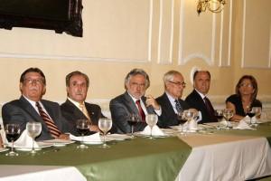 Libardo León, Juan Fonseca, Rafael Gutiérrez, Roberto Serpa, Gustavo Pinzón y Esperanza Vera.
