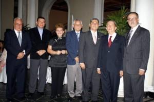 Saúl Meza, Jorge Pulido, Helena Arenas, Alejandro Gómez, Ciro Soto Barajas, Luis Aramburo y José Iván Hurtado.