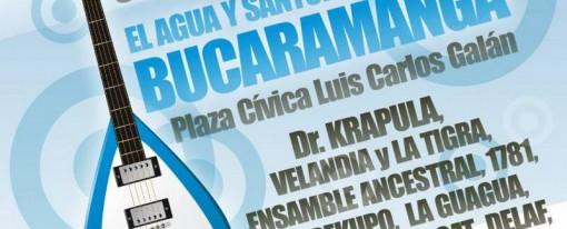 Este viernes concierto por el Agua y Santurbán