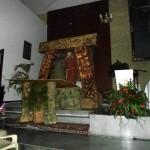 La representación fue montada por colaboradores de la parroquia.