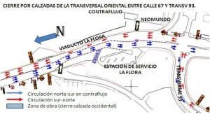 A partir del sábado 16 de abril habrá cambios viales en La Flora y el sector de Neomundo.