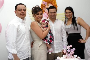 Esteven Téllez, Juliana Ogliastri, María J. Mendoza, Diego Mendoza y Andrea Orostegui.