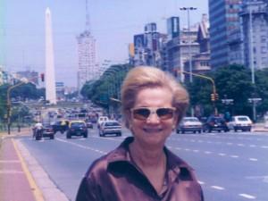 En su permanencia en Buenos Aires, Argentina.