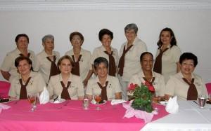 Las damas del Costurero del Niño Pobre.