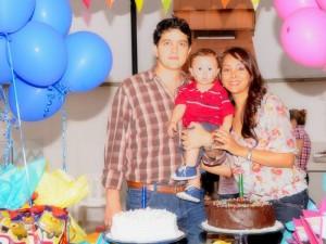 Sergio Arenas, Alejandro Arenas Ochoa y Mónica Ochoa.