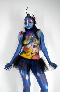 Imágenes de todo tipo se pueden realizar sobre la piel, convirtiendo el cuerpo en una forma de expresión.