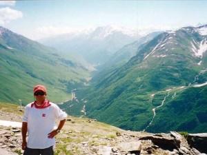 Vale do Terskol, en el Elbrus - Rusia.