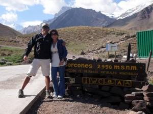 Guardaparque de Horcones, en el Aconcagua.