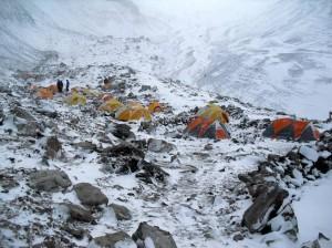 Monte. Elbrus desde el Hotel de Montanha.