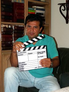 Hugo Santander, productor de filmes bumangués