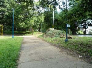 La comunidad agradeció a las entidades y personas que con dedicación y esfuerzo lograron rescatar el parque.