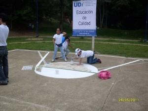 Las obras de limpieza fueron lideradas por la Universitaria de Investigación y Desarrollo, UDI.