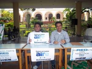 Esta veeduría liderará la marcha 'Yo quiero un nuevo aire para Bucaramanga'.