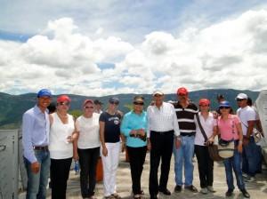 Visita en el Parque Nacional del Chicamocha.