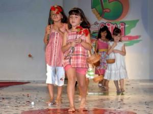 Las nuevas creaciones en ropa infantil.
