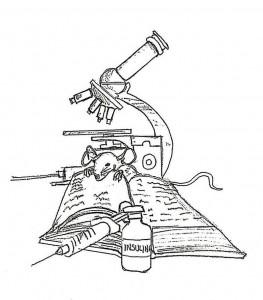 En sus ratos libres también hace dibujo artístico, obras que incluye en el libro.