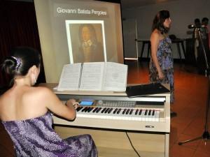 Recital de canto con acompañamiento de piano en La Merced