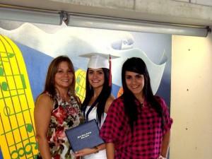 Constanza Valencia, María Camila López y María Fernanda López.