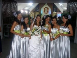 Wendy Lizarazo, Jenny Lizarazo, Diana C. Lizarazo, Maira Lizarazo, Julieth Lizarazo y Johanna Lizarazo.