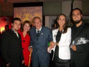Danny Miranda, Laura Calvete, Álvaro Castaño, Pilar Castaño y Óscar Delgado, de la UMB.