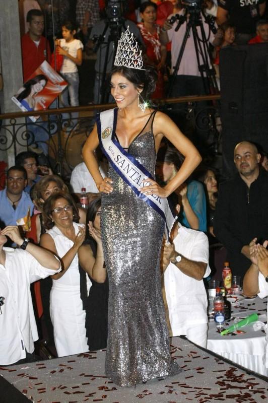 Andrea Liseth Tavera Sanabria, nueva Señorita Santander]