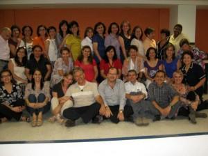 Colegio San Pedro Claver, celebraron su ree-cuentro.