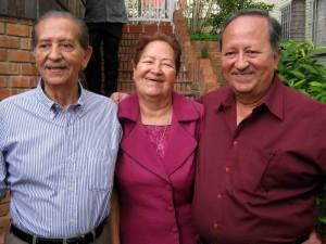 Alonso Peña Prada, Beatriz Peña Prada, Rodolfo Peña Prada.