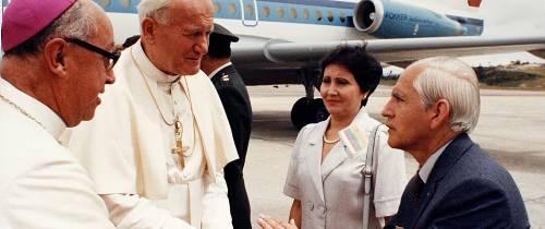«Yo estuve cerca al Papa, hace 25 años»