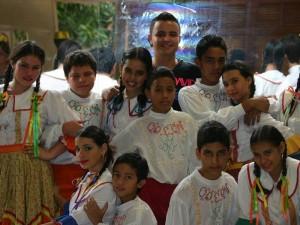 La fundación tiene grupos así: preinfantil, infantil, juvenil, mayores de edad, danza por pareja y el nuevo de danza árabe.