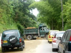 Desde este lunes 11 de julio, el Acueducto Metropolitano de Bucaramanga, AMB realiza obras en la vía a Pan de Azúcar.