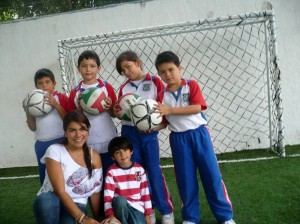 Claudia Milena Paredes, Lizeth Juliana Ortega, Juan Daniel Flórez, Andrei Fabián Latorre y Daniel Alejandro Barbosa.