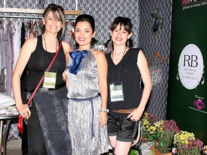 Adriana Reyes, Lina Garcés y Mabel Reyes.
