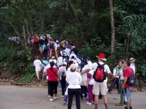En el marco de la campaña 'Yo me muevo por el Tdah y tú' que lidera la Fundación Camino Claro se programó una caminata.