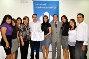 Certificación en sistema de gestión de calidad Icontec-IQNET Nacional e internacional.